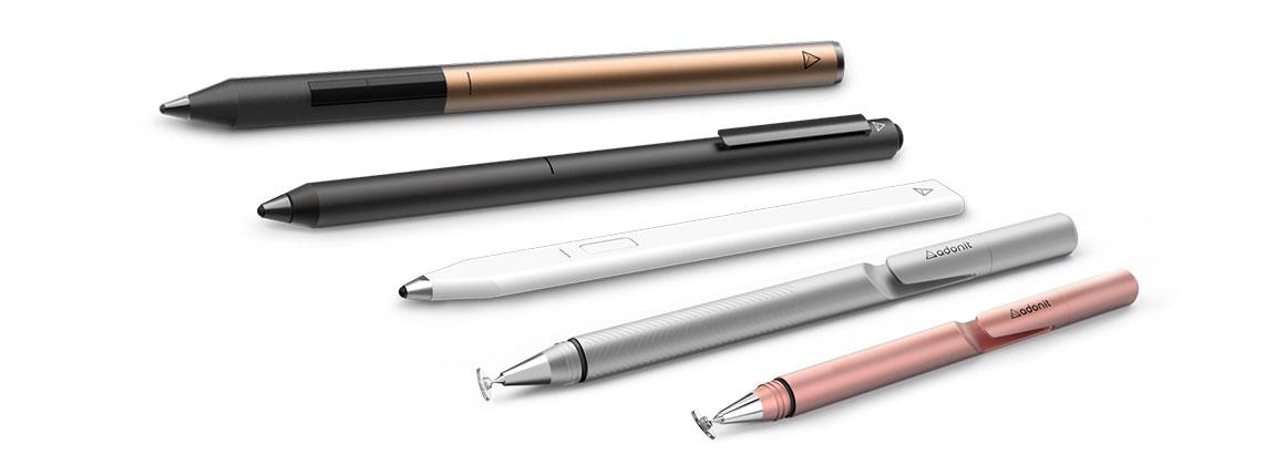 Стилусы Adonit - лучшие стилусы для планшетов и смартфонов