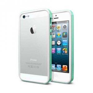 Бампер SGP Neo Hybrid EX зеленый для iPhone 5/5S/SE