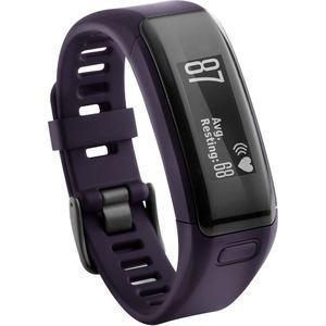 Фитнес браслет Garmin vίvosmart HR, фиолетовый