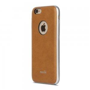 Чехол-накладка для Apple iPhone 6/6S - Moshi iGlaze Napa бежевый