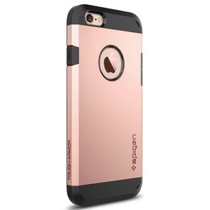 Чехол-накладка для Apple iPhone 6/6S - SGP Tough Armor розовый