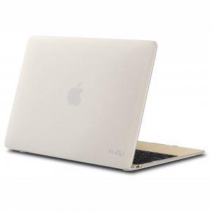 "Чехол-накладка для Apple MacBook 12"" - Kuzy Rubberized Hard Case белый"