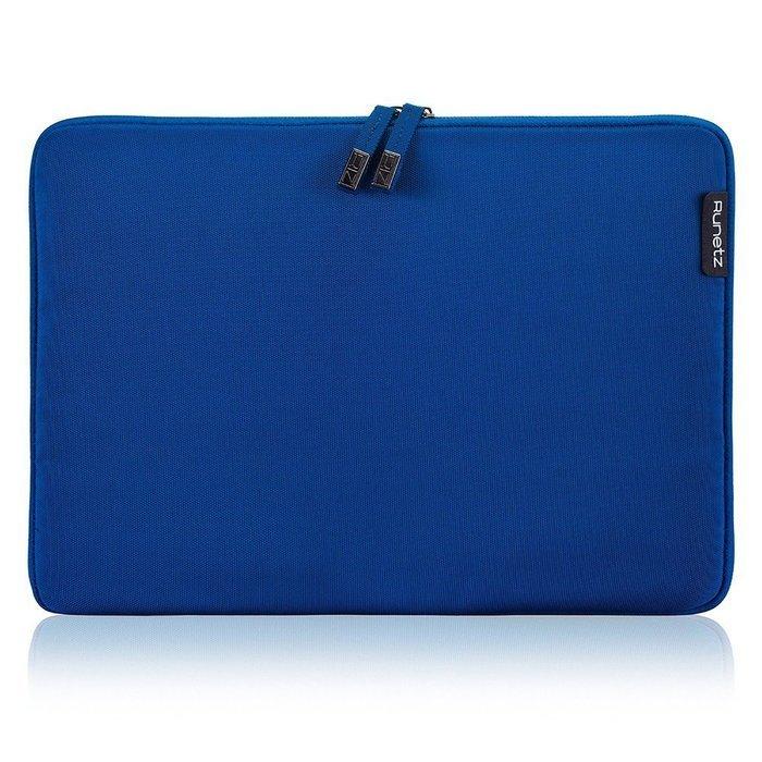 "Чехол-карман для Apple MacBook Pro 15""/Pro Retina 15"" - Runetz Soft Sleeve синий"