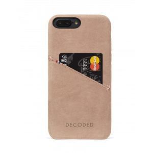 Кожаный чехол Decoded Back Cover розовый для iPhone 8 Plus/7 Plus