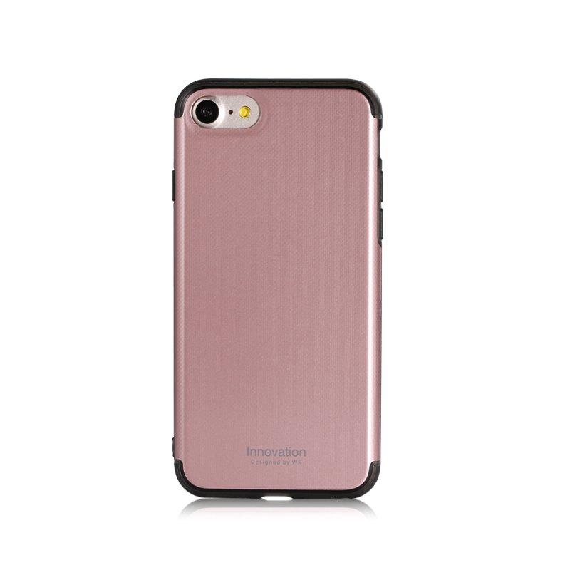 Пластиковый чехол WK Roxy розовый для iPhone 8/7