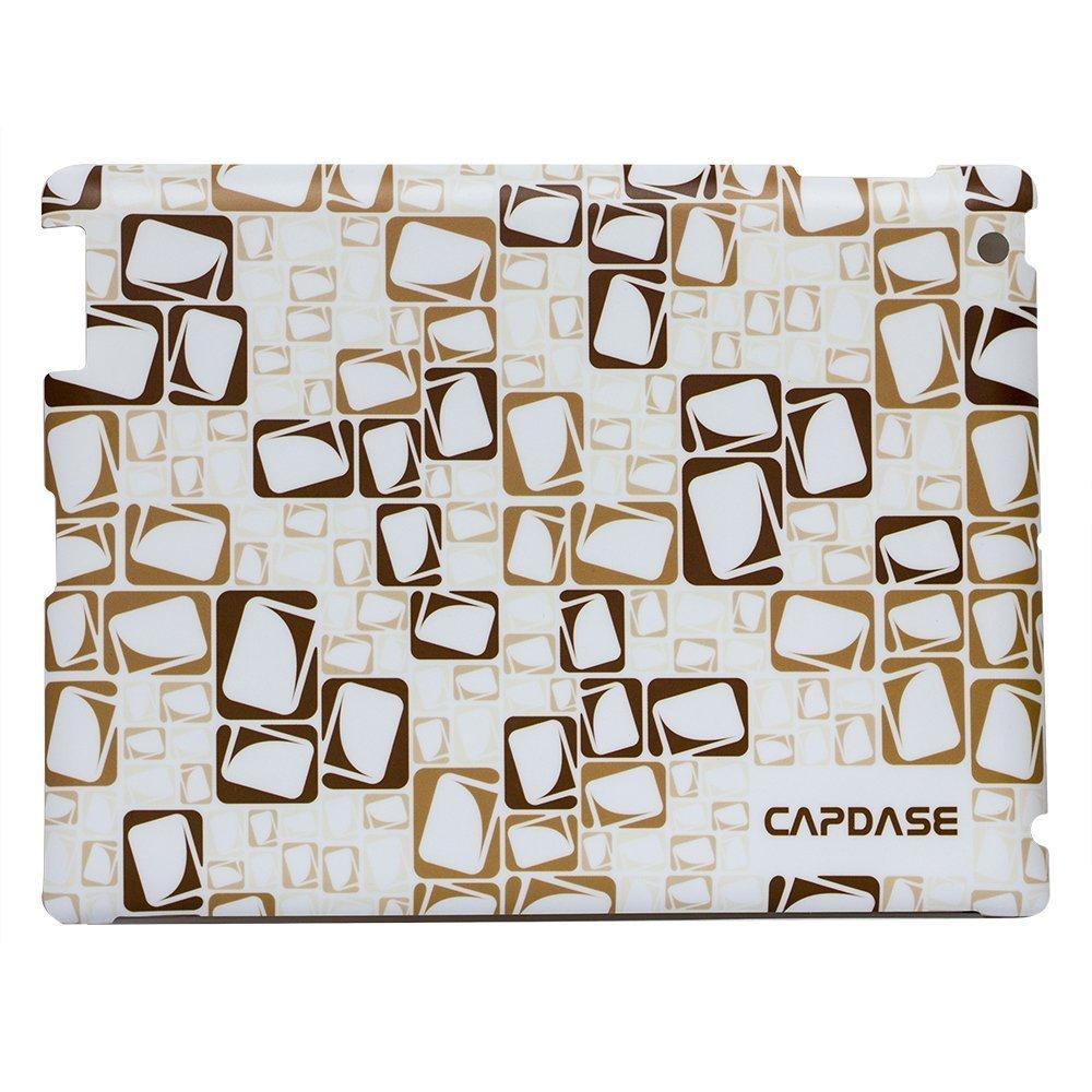 Наклейка для Apple iPad 2/3/4 - Capdase ProSkin Logogram коричневая