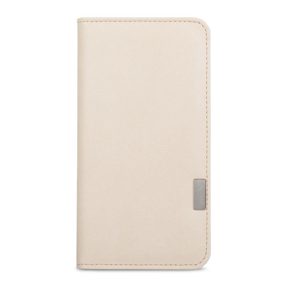 Чехол с отделом для карточек Moshi Overture Wallet бежевый для iPhone 8 Plus/7 Plus
