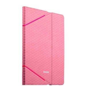 Чехол с орнаментом iBacks Fish Scale розовый для iPad Air 2