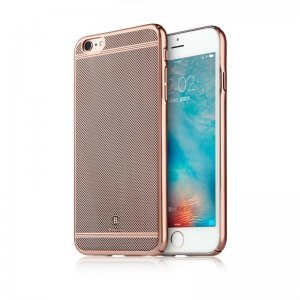 Чехол-накладка для Apple iPhone 6/6S - Baseus Glory розовый