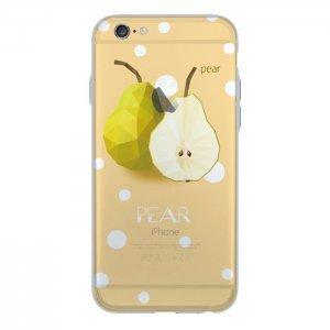 Чехол с рисунком WK Pear желтый для iPhone 6/6S