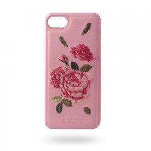 Кожаный чехол Polo Hawaii розовый для iPhone 8/7/6/6S/SE 2020