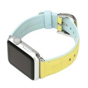 Ремешок Baseus Colorful желтый + синий для Apple Watch 38/40 мм
