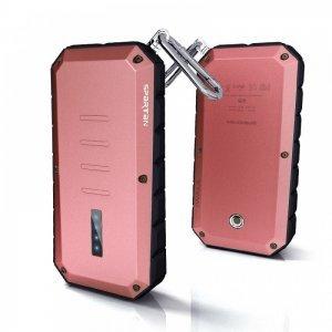 Внешний аккумулятор IWALK Extreme Spartan 13000 mAh, 2 USB, 2.4A/1.0A красный