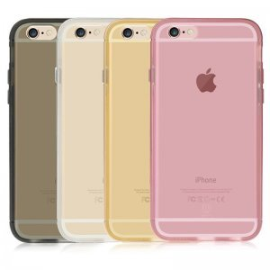 Чехол Baseus Golden розовый для iPhone 6 Plus/6S Plus