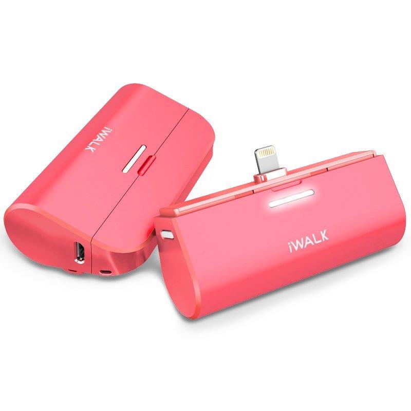 Внешний аккумулятор iWalk Link Me3000L розовый