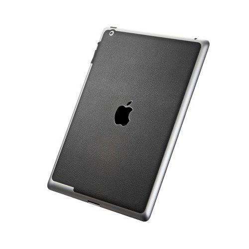 Наклейка для Apple iPad 4/3/2 - SGP Leather черная
