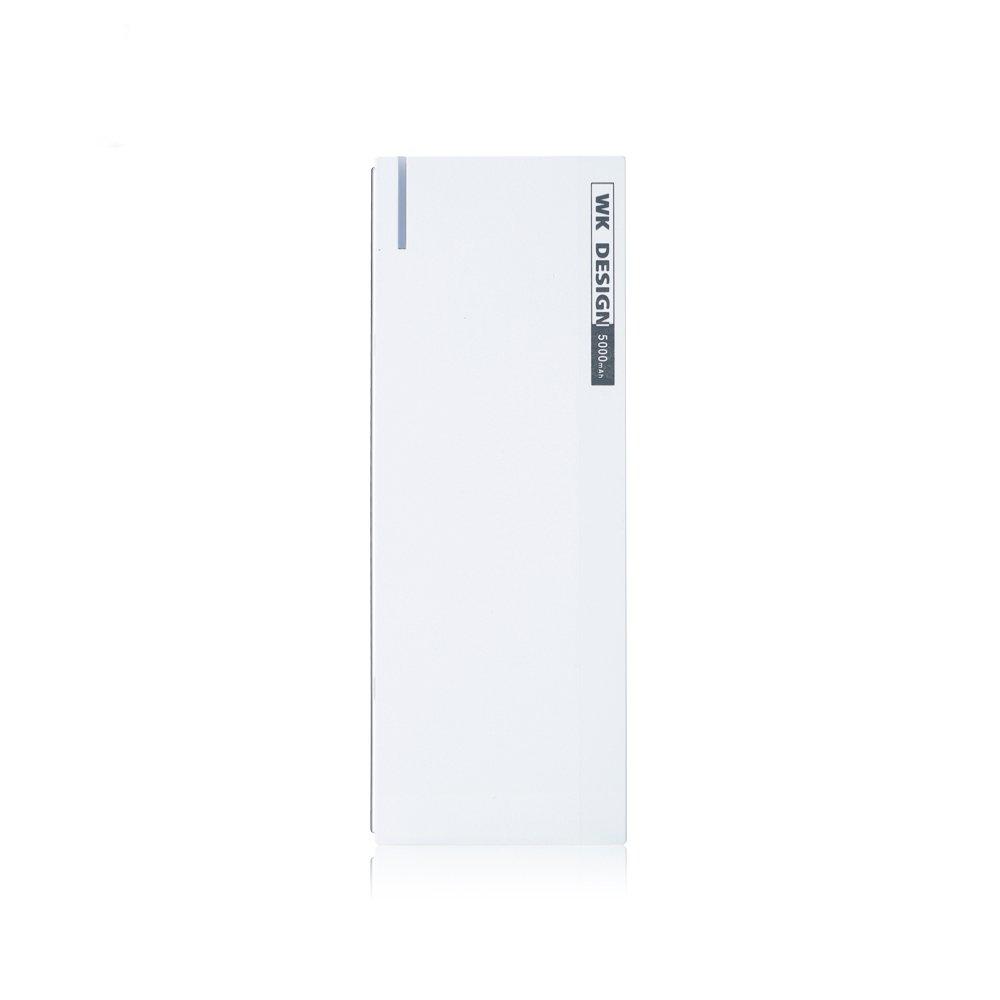 Внешний аккумулятор с Micro-SD картой WK Kpower 5000mAh белый