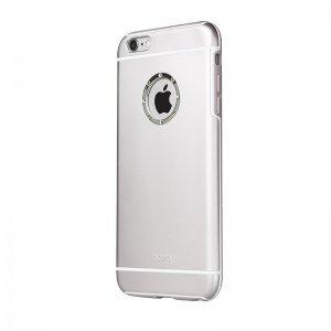 Чохол зі стразами iBacks Armour Crystal Cartier сріблястий для iPhone 6 Plus / 6S Plus