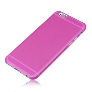 Чехол-накладка для Apple iPhone 6 Plus - Ultrathin Frosted розовый