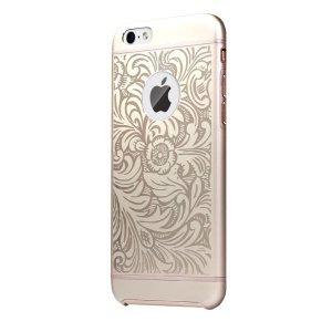 Чехол с рисунком iBacks Essence Cameo Venezia золотой для iPhone 6/6S