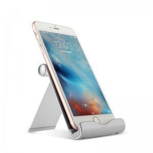 Подставка для смартфона/планшета Baseus Joyous серебристая