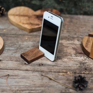 Подставка для iPad, iPhone - EcoWalNut Крючок