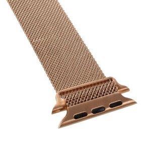Ремешок Coteetci W6 розовое золото для Apple Watch 42/44 мм
