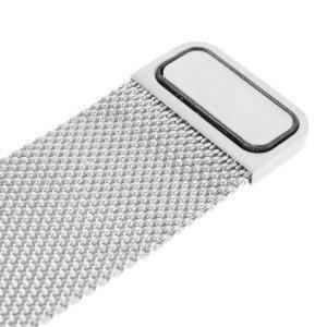 Ремешок Coteetci W6 серебристый для Apple Watch 42/44 мм