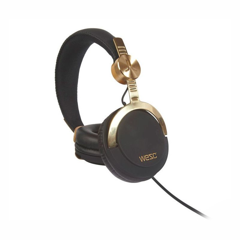 Наушники WeSC Bassoon DJ Pro золотистые + черные