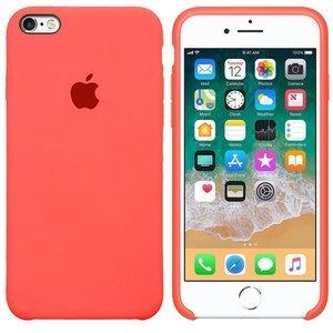 Силиконовый чехол неоновый розовый для iPhone 6/6S