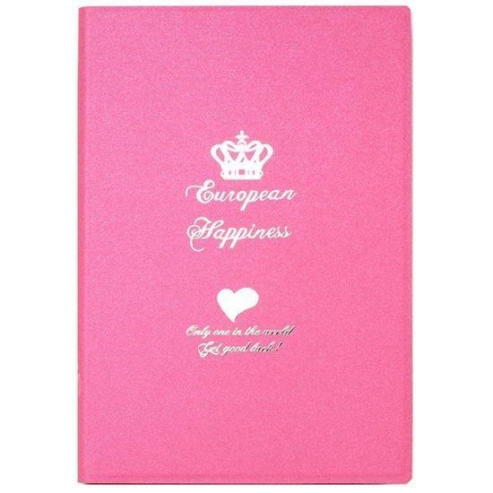 Чехол с рисунком iBacks Ultra-slim Crown розовый для iPad mini 2/3