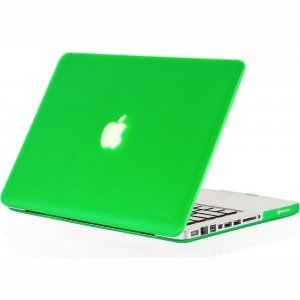 "Чехол-накладка для Apple MacBook Pro 13"" - Kuzy Rubberized Hard Case зеленый"