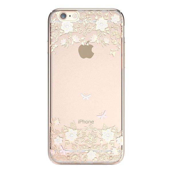 Чехол-накладка для Apple iPhone 6/6S - Kingxbar Dreamland Gold Lily