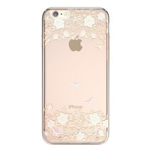Чохол-накладка для Apple iPhone 6 / 6S - Kingxbar Dreamland Gold Lily