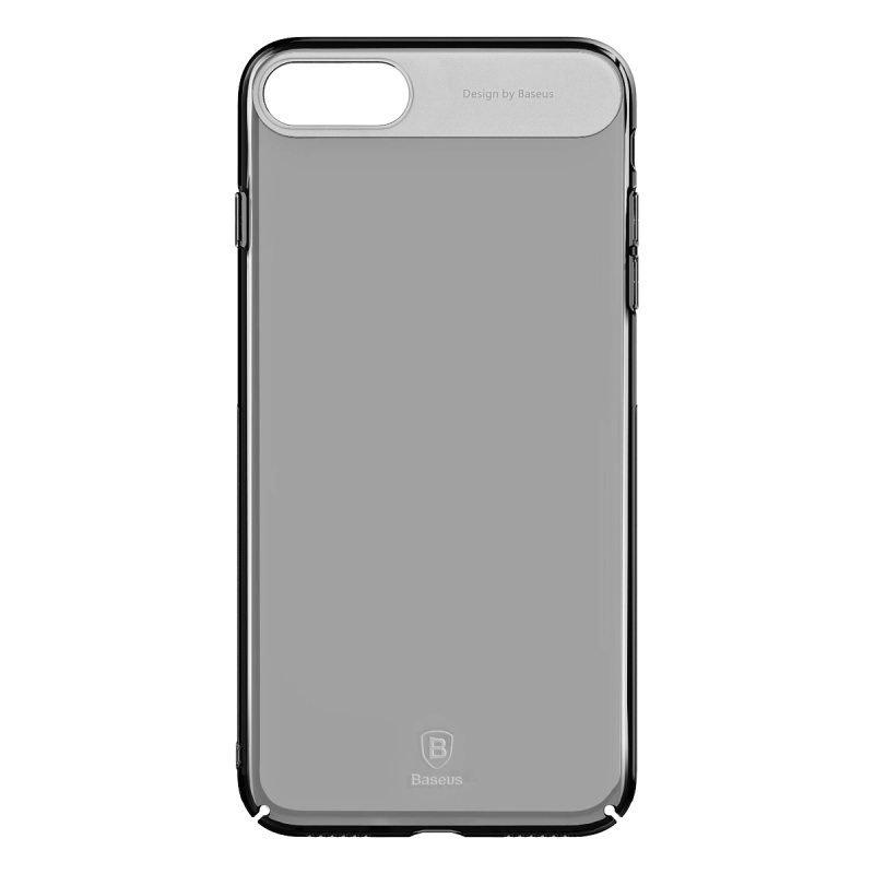 Полупрозрачный чехол Baseus Sky черный для iPhone 8/7