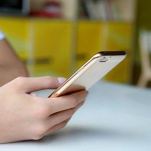 Чехол Baseus Shining золотой для iPhone 6 Plus/6S Plus