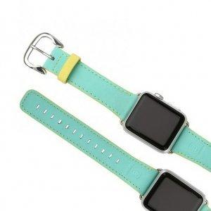 Ремешок Baseus Colorful зеленый + желтый для Apple Watch 38/40 мм