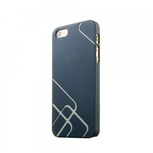 Чехол-накладка для Apple iPhone 5/5S - Cococ Wave синий