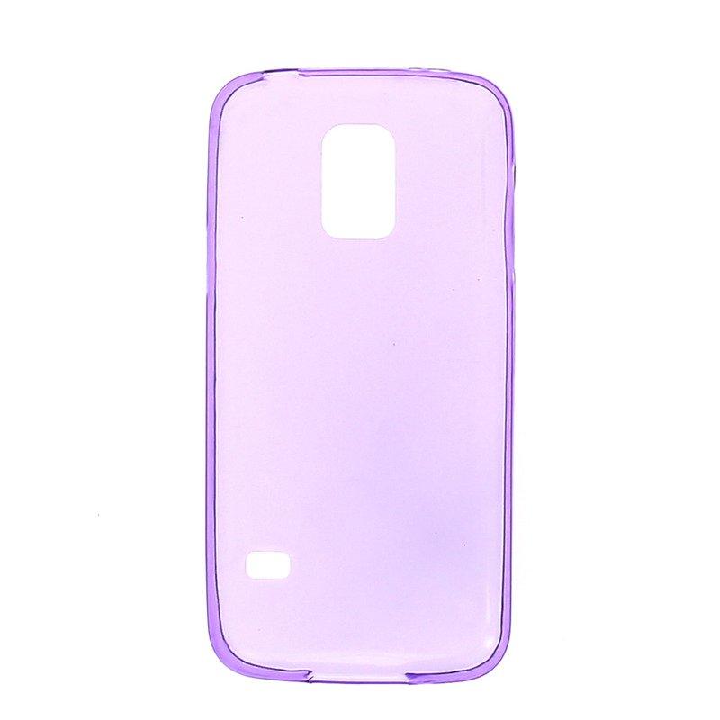Чехол-накладка для Samsung Galaxy S5 mini - 0.3мм фиолетовый