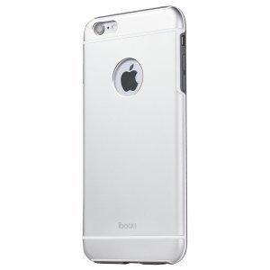 Защитный чехол iBacks Armour серебристый для iPhone 6/6S Plus