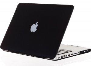 """Чехол-накладка для Apple MacBook Pro 13"""" - Kuzy Rubberized Hard Case черный"""