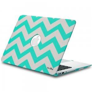 "Чехол-накладка для Apple MacBook Air 13"" - Kuzy Hard Case голубой Chevron"