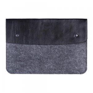"""Чехол-конверт Gmakin GM04 на кнопках черный для MacBook Air 13""""/Pro 13""""/ Pro 13"""" Retina"""