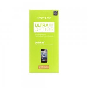 Набор защитных пленок для Apple iPhone 5S/5C/5 - SGP Steinheil Ultra Optics матовый