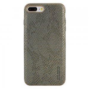 Кожаный чехол Polo Viper Adder серый для iPhone 8 Plus/7 Plus