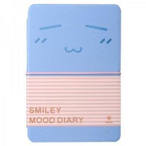 Чехол-книжка для Apple iPad mini 2/3/iPad mini - Baseus Mood diary голубой