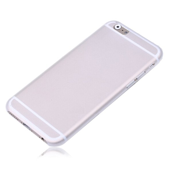 Полупрозрачный чехол Ultrathin Frosted белый для iPhone 6/6S Plus