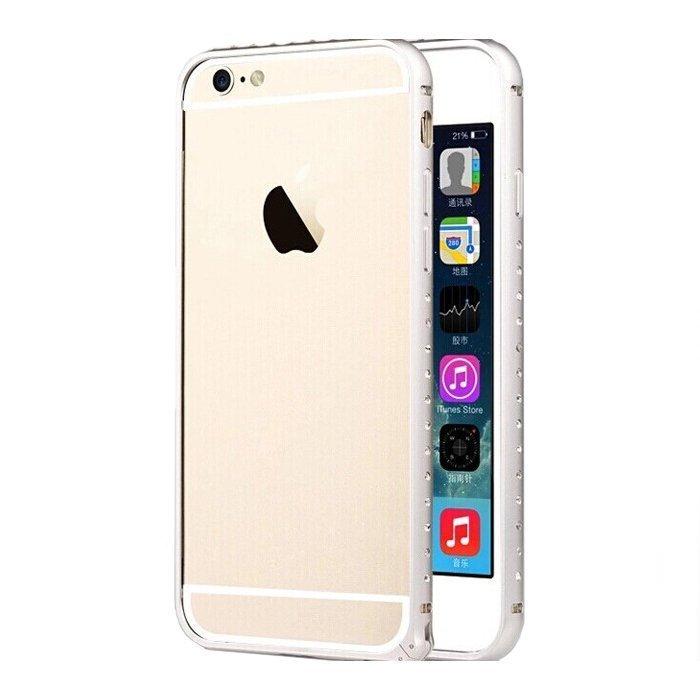 Чехол-бампер для Apple iPhone 6 - TOTU Mellow Dazzling серебристый