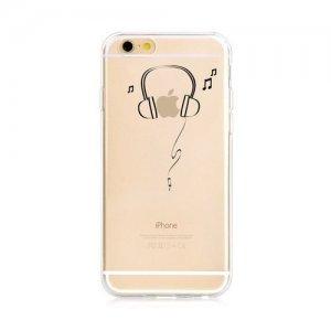 "Чехол с рисунком Zethydum ""Dynamic Headset"" для iPhone 6/6S"