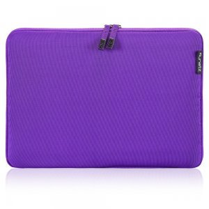 "Чехол-карман для Apple MacBook Air 11""/ MacBook 12"" - Runetz Soft Sleeve фиолетовый"